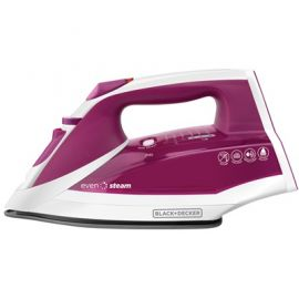 Plancha de vapor anti goteo Black & Decker