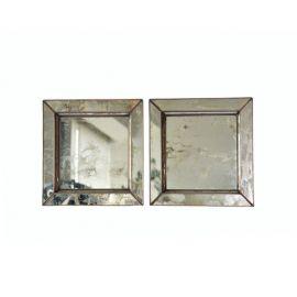 Conjunto de dos espejos 30x30