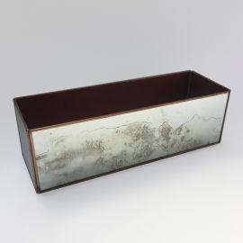 Caja rectangular de espejo