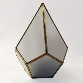 Terrario Pirámide de Espejo