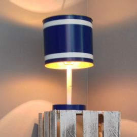 Lámpara de buró Azul