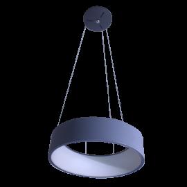 Lámpara colgante con pantalla opalina