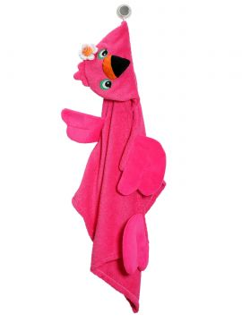 Toalla para Niña Flamingo Rosa