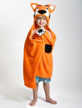 Toalla para Niño Tigre Naranja