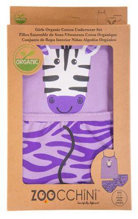 Conjunto de Ropa Interior Zebra