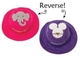 Gorro Reversible Elefante-Ratón
