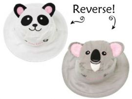 Gorro Reversible Panda-Koala