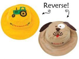 Gorro Reversible Tractor-Perro