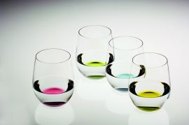 Set de 4 vasos Happy