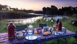 Cena privada en el Serengeti