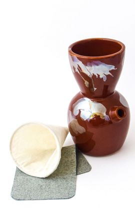 Cafetera Pour Over 500 ml Calabaza