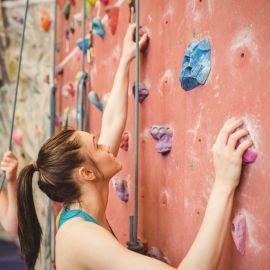 Escalada en muro Condesa