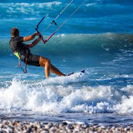 Kitesurf en Laguna villa corona para 2